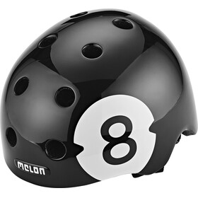 Melon Urban Active Story Fietshelm 8 Ball zwart